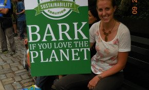 Bark if you love the planet