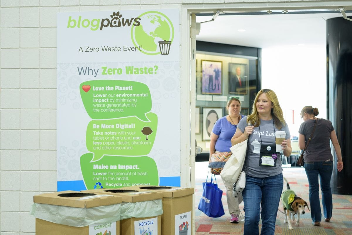 BlogPaws Breaks Record in Reducing Carbon Footprint