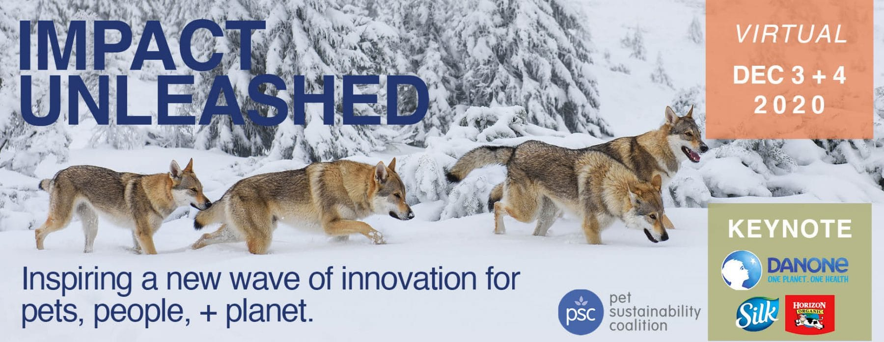 PSC's 4th Annual Pet Business Sustainability Event, Impact Unleashed, Goes Virtual