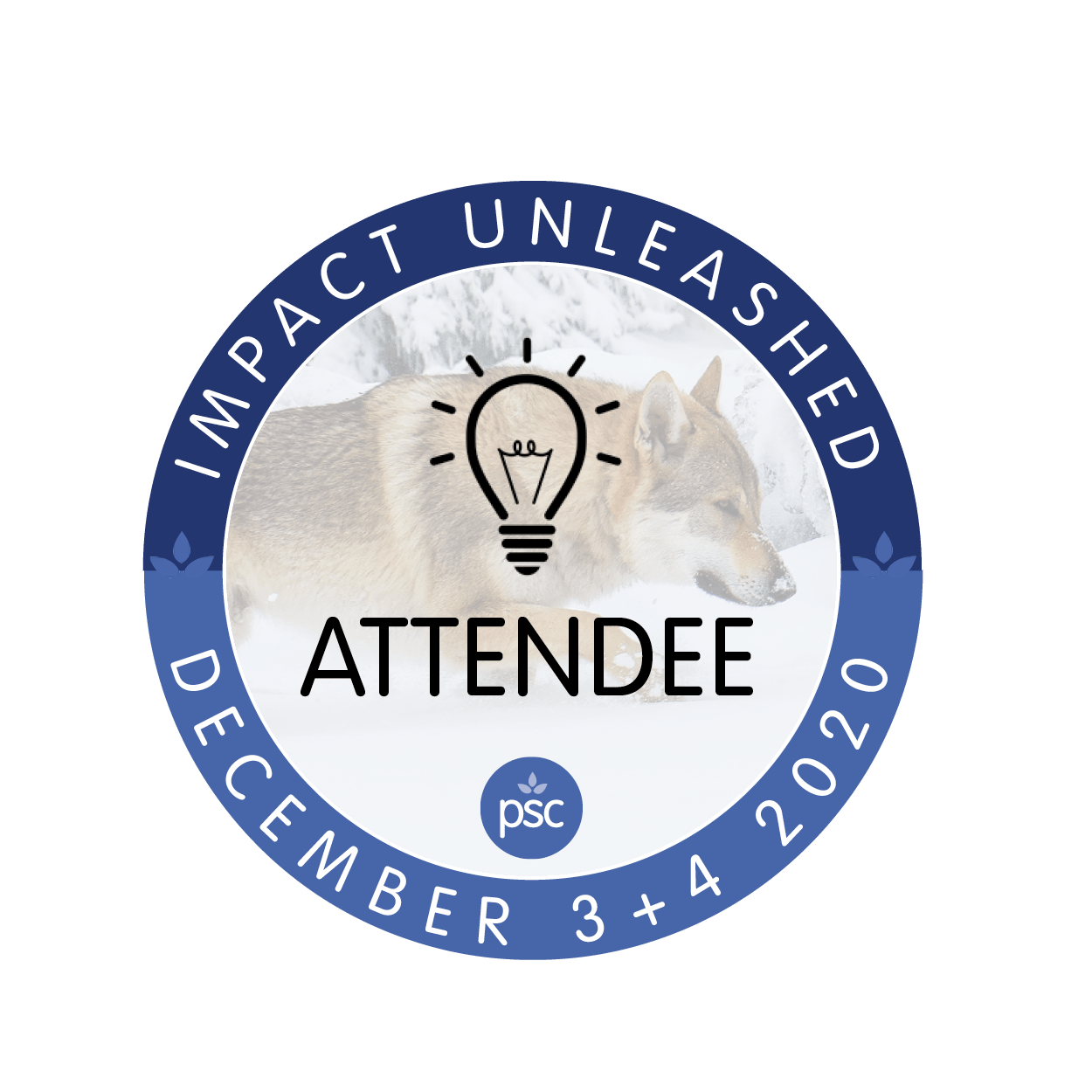 Impact Unleashed Attendee Badge