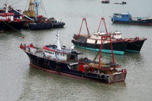 fishing boats sustainable harvest